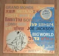 Joe Jackson – Big World Vinyl LP Album 33rpm 1986 A&M Records – JWA 3 A1-B1