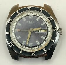 Vintage CORDURA Sea-Gull Self-Winding Automatic Day Date Divers Watch