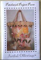 Patchwork Project Purse, Pouch & Pinkeep quilt sewing patterns Artful Offerings