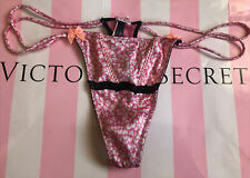 VTG *10* NWOT Victoria's Secret Smooth, Sexy Little Things Thong. RARE-SATIN L