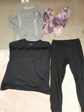 Ladies Gym Bundle Size 12 Fit gym leggings and gym tops