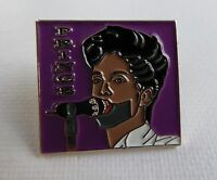Metal Enamel Pin Badge Brooch Prince and the Revolution Purple Rain Square