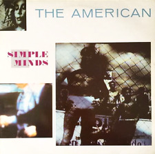 "SIMPLE MINDS - The American (12"") (VG+/VG-)"