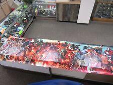 Marvel Invincible Ironman vinyl banner 10 feet long comic Hulk Dr Strange RARE!!