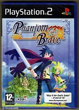 PS2 Phantom Brave, ( 2007 ) UK Pal, Brand New & Sony Factory Sealed