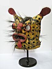 Mexican Yellow Tiger, Tigre Helmet Mask, Guerrero, Rare!
