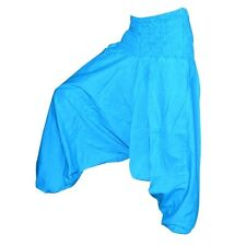 Hareem Trousers Pants Hippie Gypsy Festival  Genie Alibaba Baggy Yoga Boho-AQUA