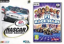 nascar road racing & f1 race stars  new&sealed