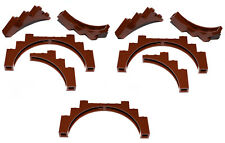 Bow 1x8x2 3308 LEGO 8 x Arc Pont Nouveau Gris Foncé newdark Grey Brick W