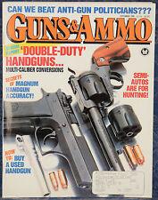 Magazine GUNS & AMMO September 1990 ! CALICO M900 9mm CARBINE and M950 PISTOL !