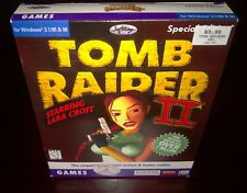 Tomb Raider Ii Starring Lara Croft [Special Edition] Eidos & Core (Pc, 1998) Cib