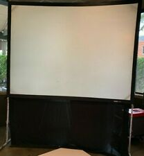 DA-LITE 6' x 8' FASTFOLD  Projection Screen KIT WITH FRONT SCREEN FABRIC    0711