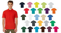 B&C Collection Safran Short Sleeve Polo Shirt PU409 - Mens Plain Sport Smart