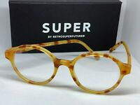 RetroSuperFuture H78 Numero 27 Blonde Havana Frame Size 46mm Sunglasses NIB