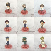 Axis Powers Hetalia set of 9pcs base PVC figure COLLECT doll HOT anime toy new