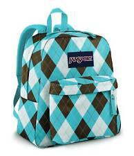 Jansport Backpack Spring Break Light Blue Skate School Travel Bag