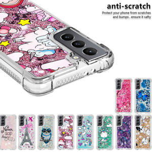 Bling Glitter Case for Samsung Galaxy S21 Plus Note 20 Ultra Soft Phone Cover
