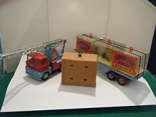 "Corgi No: 21 ""Chipperfield's Scammell Truck & Trailer Menagerie Gift Set"" (RARE)"