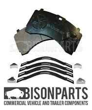 MERCEDES ACTROS MP2 & MP3 (2002 - 2011) FRONT BRAKE PAD SET C/W WITH FITTING KIT