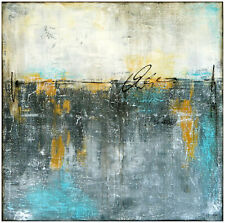 Original ABSTRAKT Gemälde HANDGEMALT Acrylmalerei KUNST modern STELLA HETTNER XL