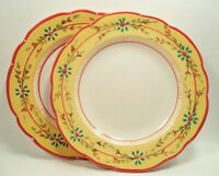 New Petit Jardin by Culinary Arts China Set (s) of 2 Dinner Plates 10 1/2""