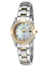 Citizen Eco-Drive 28 Diamonds Mother of Pearl Dial Women's Watch EW1824-57D