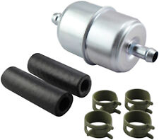 Baldwin Filter BF836-K3, In-Line Fuel Filter with Clamps and Hoses