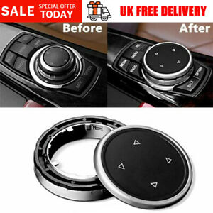 Gear iDrive Multimedia Buttons Cover Knob For BMW 1 2 3 4 5 7 Series X1 X3 X4 X5