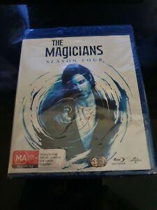 The Magicians Season 4 Series Four Box Set Blu-ray brand NEW sealed free post