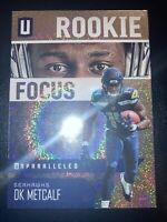 2019 Unparalleled DK Metcalf Rookie Focus Foil Refractor Prizm Seattle Seahawks