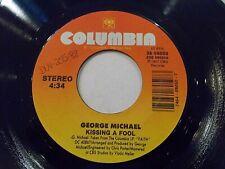 George Michael Kissing A Fool 45 1988 Columbia Vinyl Record