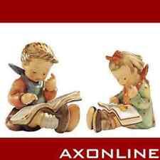 Hummelfiguren Bücherwurm nr.8 & Der Gelehrte nr.415, Kinder m. Buch. Hummel