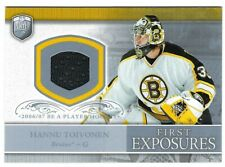 2006-07 Be A Player  Hannu Toivonen Portraits Exposure JERSEY Boston Bruins