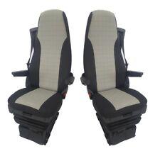 a medida para Scania G P R Serie 2009-2013 premium Tela Gris FUNDAS ASIENTO