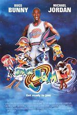 SPACE JAM (1996) ORIGINAL INTERNATIONAL STYLE B MOVIE POSTER  -  ROLLED