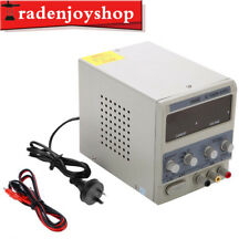 15V 5A Digital DC Power Supply Variable Adjustable Lab Bench Test Repair Tools