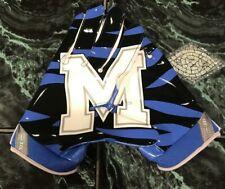 Nike Superbad 4 Ncaa Memphis Tigers Football Gloves Pgf432-484 Blue Size 3Xl