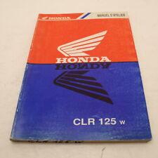 MANUEL REVUE TECHNIQUE D ATELIER HONDA CLR 125 CITYFLY 1998-2003 JD18A CITY FLY