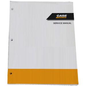CASE 580LE/SLE 580LSP/LPS, 590SLE/LSP Loader Backhoe Service Manual # 7-79973GB