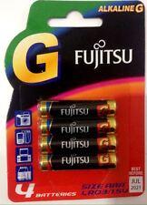Fujitsu Micro AAA Batterien 1.5v Alkaline LR03 4er Pack SERIE G