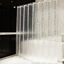 80 x 180 cm Ecent Tenda da Doccia Eva Spessa antimuffa Impermeabile Semi-Trasparente