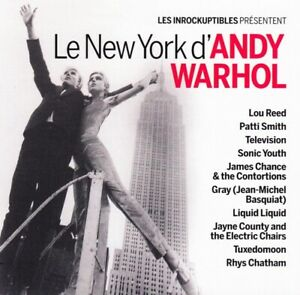 Le New York D'Andy Warhol | Cd Album | Etat Tres Bon