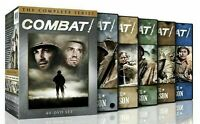 COMBAT THE COMPLETE SERIES   (DVD, 2013, 40-Disc Set) SEASONS 1-5