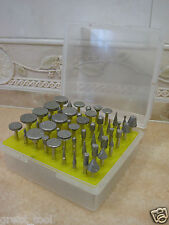 50 pieces THK Diamond coated rotary grinding head jewelry lapidary burr GRIT 120