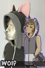 Wolf Hoodie Vest, New, Kigurumi, Cosplay, Costume