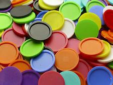 50 Einkaufswagenchips Wertmarken Pfandmarken mit Griffrand Farben wählbar