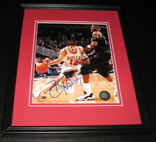 Kirk Hinrich Signed Framed 8x10 Photo Bulls Kansas