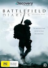 Battlefield Diaries : Season 1 (DVD, 2011, 2-Disc Set) New  Region 4