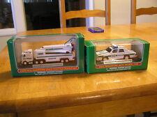 2009 AND 2003 HESS TRUCK MINI-!!!