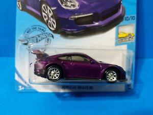 Hot Wheels Porsche 911 GT3 RS CUSTOM Super Treasure Hunt *CISTOM* with protector